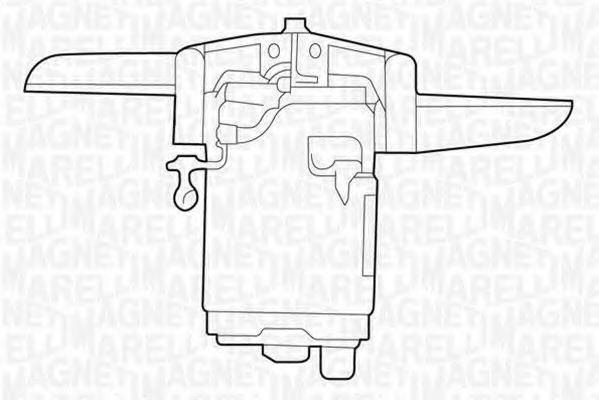 Вентилятор, охлаждение двигателя MAGNETI MARELLI 069422207010