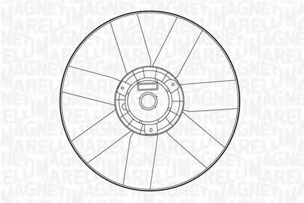 Вентилятор, охлаждение двигателя MAGNETI MARELLI 069422260010