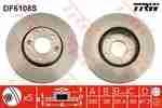 Диск тормозной TRW DF6108S: купить