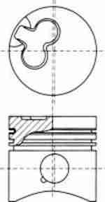 Поршень двигателя NURAL 87-133107-00: продажа