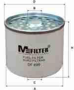 Фильтр топливный MFILTER DF 699
