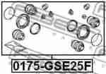 Ремкомплект суппорта FEBEST 0175GSE25F: заказать