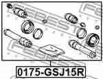 Ремкомплект суппорта FEBEST 0175GSJ15R: цена