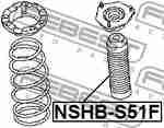 Пыльник амортизатора переднего FEBEST NSHBS51F: заказать