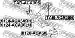 Сайлентблок FEBEST TABACA30S: заказать