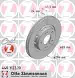 Диск тормозной ZIMMERMANN 440312220