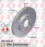 Диск тормозной ZIMMERMANN 470.2433.20: купить