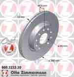 Диск тормозной ZIMMERMANN 600.3233.20: продажа